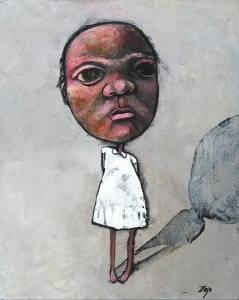 Zoya Taylor - I said no - Oil on Canvas