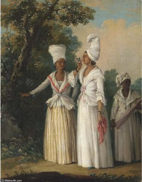 Agostino Brunias - Free Women of Dominica