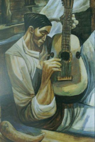 'El Cuartista' (1960) by Augusto Marín (1921-21011).