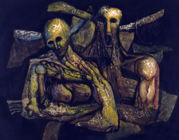 'Pareja de Burros' (1971) by Augusto Marín (1921-21011).