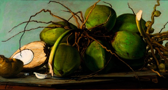 Francisco Oller - Still life with Coconut Puerto Rico about 1893
