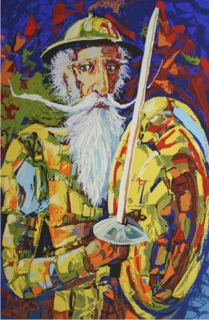 Quijote Desafiante by Wichie Torres
