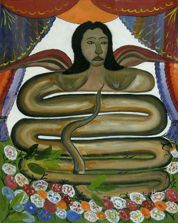 Maitresse Erzuline by Hector Hyppolite